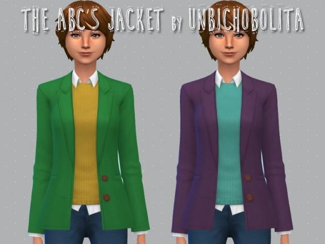 The ABCs jacket at Un bichobolita image 16210 670x503 Sims 4 Updates