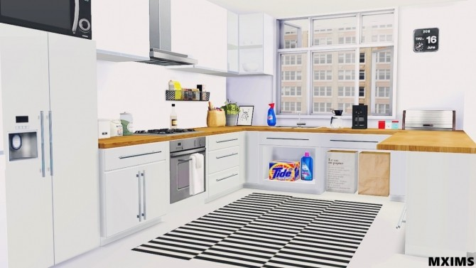 Basic Kitchen At Maximss Sims Updates