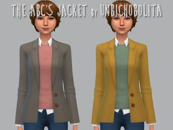 The ABCs jacket at Un bichobolita image 1638 670x503 Sims 4 Updates