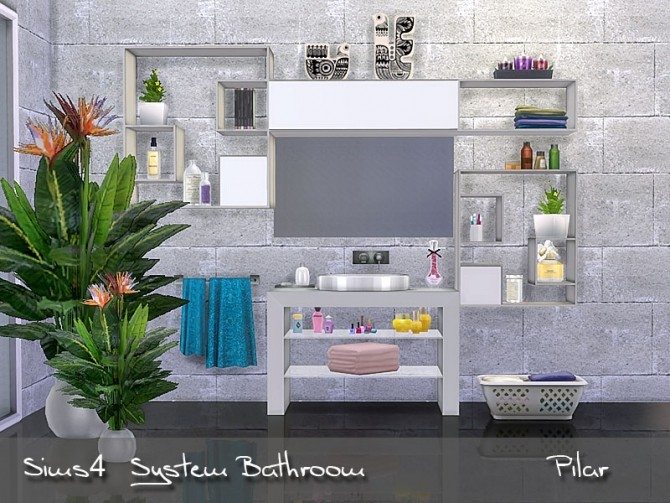 System Bathroom by Pilar at SimControl image 1645 670x503 Sims 4 Updates