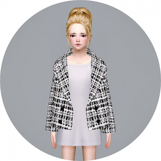 Child ACC Winter Coat v1 single colors at Marigold image 16510 670x670 Sims 4 Updates