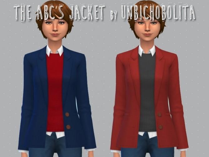 The ABCs jacket at Un bichobolita image 1658 670x503 Sims 4 Updates