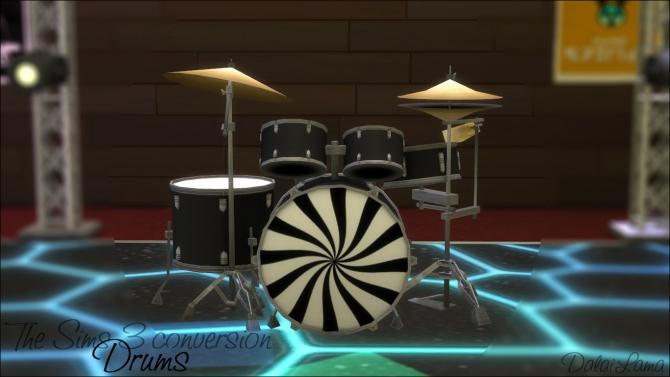 Ts3 Drums Conversion By Dalailama At The Sims Lover 187 Sims