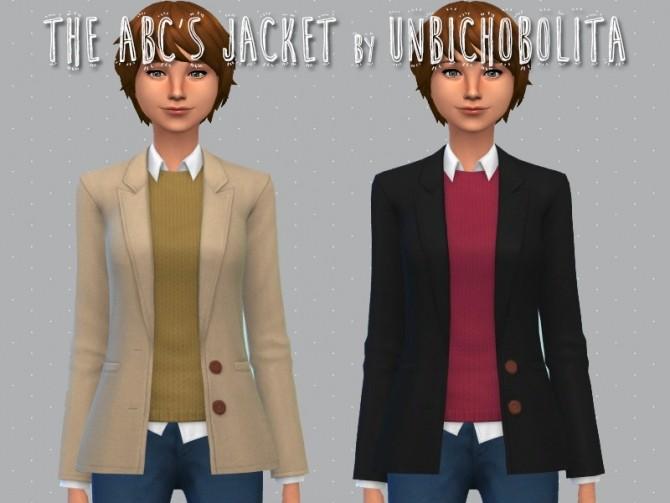 The ABCs jacket at Un bichobolita image 1668 670x503 Sims 4 Updates