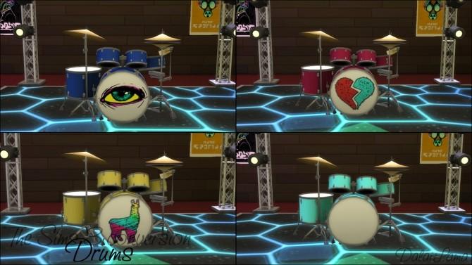 TS3 Drums conversion by DalaiLama at The Sims Lover image 1669 670x377 Sims 4 Updates
