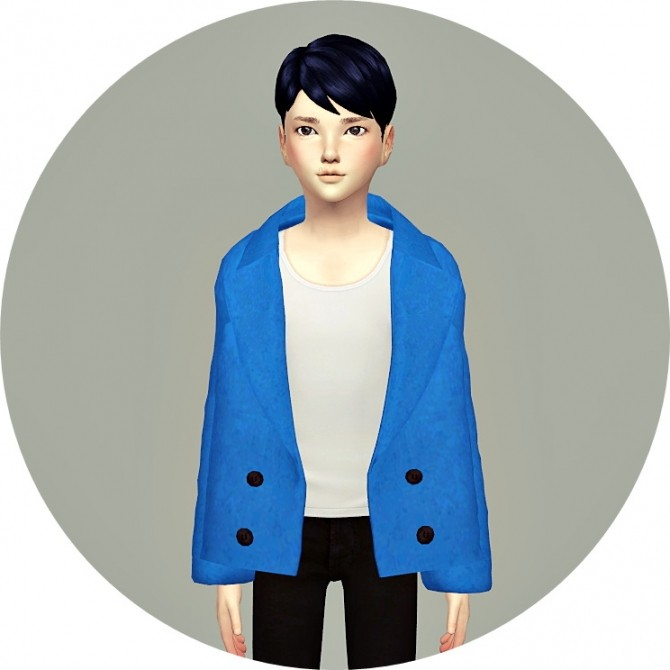 Child ACC Winter Coat v1 single colors at Marigold image 16710 670x670 Sims 4 Updates