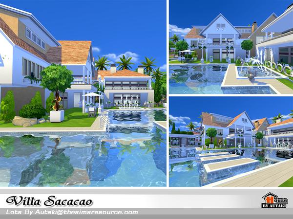 Sims 4 Villa Sacacao by autaki at TSR