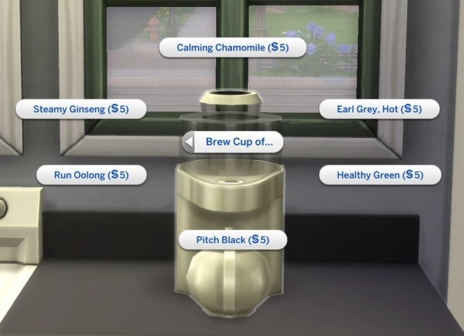 Sims 4 Single Cups of Tea/Coffee by plasticbox at Mod The Sims