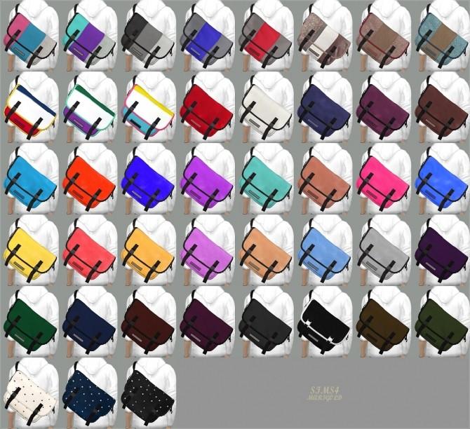 Male Messenger Bag at Marigold image 17410 670x612 Sims 4 Updates