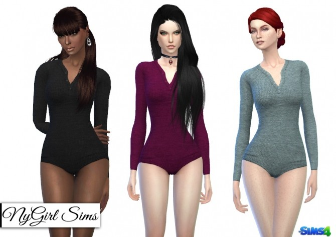 Long Sleeve Thermal Bodysuit at NyGirl Sims image 1744 670x473 Sims 4 Updates