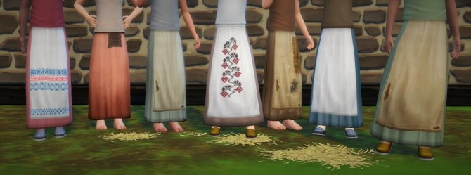 Apron skirts part 2 at Budgie2budgie image 1754 670x249 Sims 4 Updates