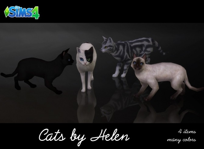 Cats 4 Items At Helen Sims 187 Sims 4 Updates