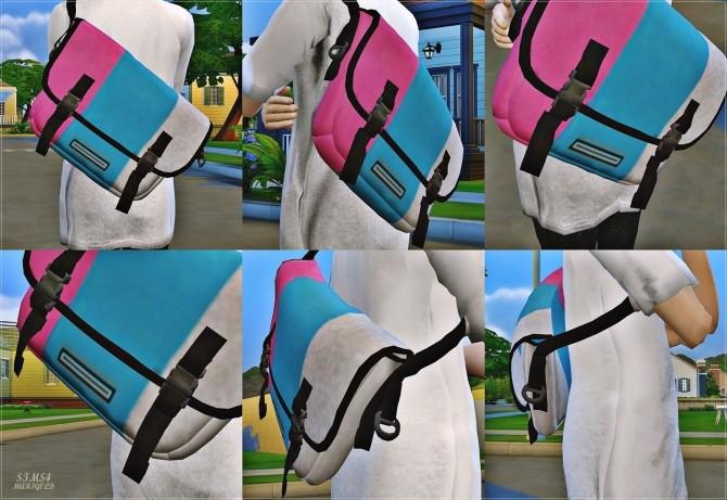 Male Messenger Bag at Marigold image 1778 670x461 Sims 4 Updates