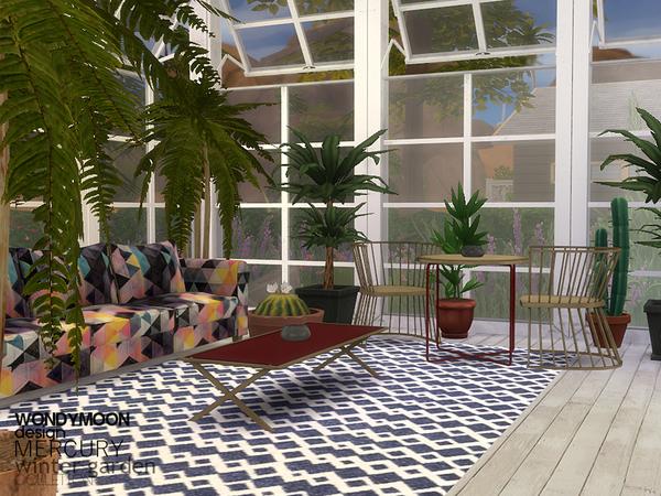 Sims 4 Mercury Winter Garden by wondymoon at TSR