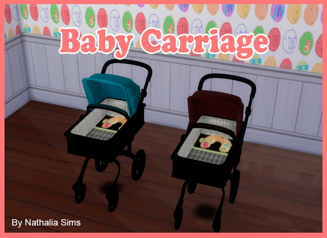 Baby Comfort and Carriage at Nathalia Sims image 1780 Sims 4 Updates