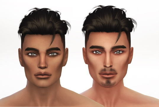 BlackMojitos Skintone, Female and Male at S4 Models image 1835 Sims 4 Updates