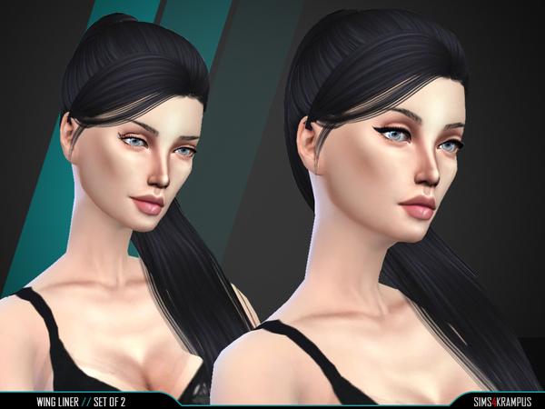 Eyeliner Set of 2 by SIms4Krampus at TSR image 1837 Sims 4 Updates