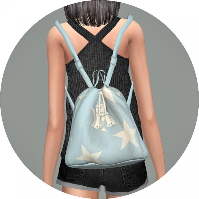 Bucket Backpack V1 At Marigold 187 Sims 4 Updates