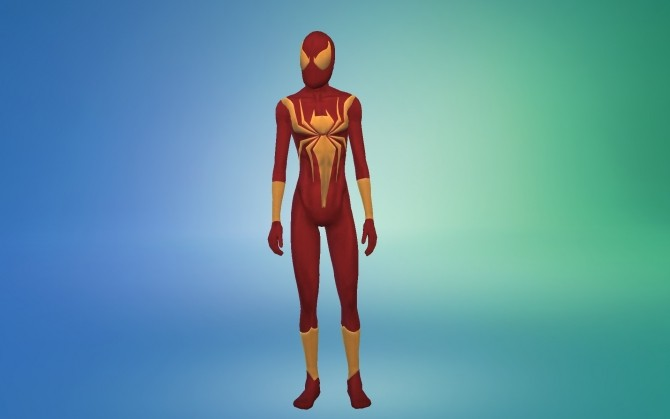 Sims 4 Iron Spider Armor by g1g2 at Mod The Sims