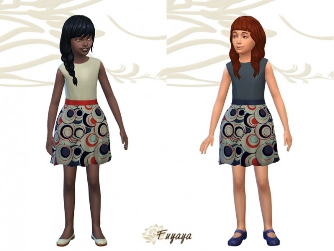 Margeh dress by Fuyaya at Sims Artists image 1932 670x503 Sims 4 Updates