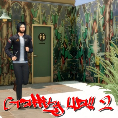 Graffity Walls Set 2 at Nowa24 image 1935 Sims 4 Updates