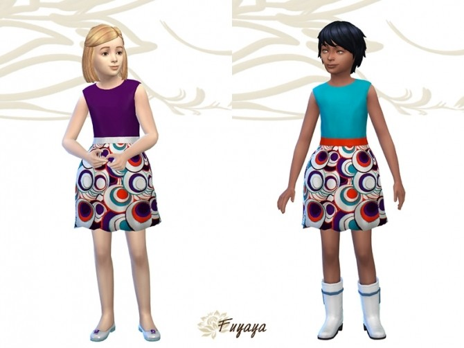 Margeh dress by Fuyaya at Sims Artists image 1942 670x503 Sims 4 Updates