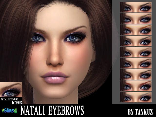 Sims 4 Natali Eyebrows at Tankuz Sims4