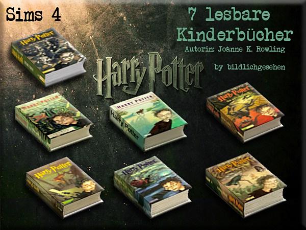 Harry Potter Band 1 7 by Bildlichgesehen at Akisima image 1973 Sims 4 Updates