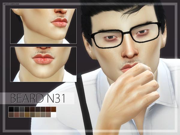 Sims 4 10 Beard Megapack 4.0 by Pralinesims at TSR