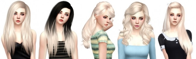 Sims 4 Color palette updates at Aveira Sims 4
