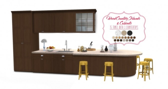 Shaker Kitchen *UPDATED at Simsational Designs image 20114 670x355 Sims 4 Updates