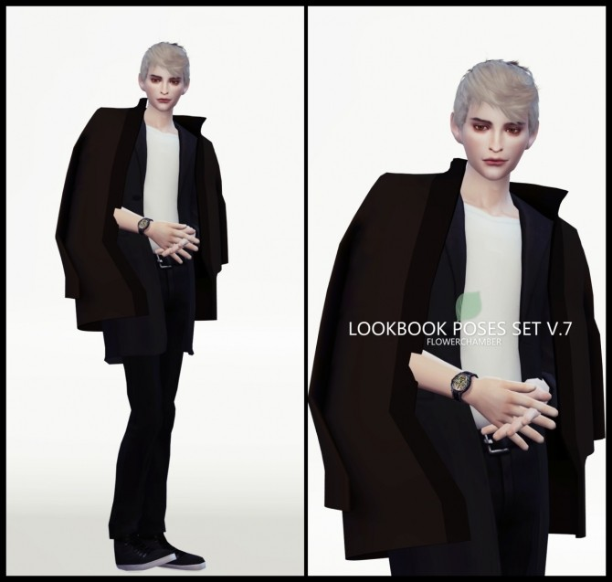 LOOKBOOK V.7 POSES SET at Flower Chamber image 2024 670x637 Sims 4 Updates