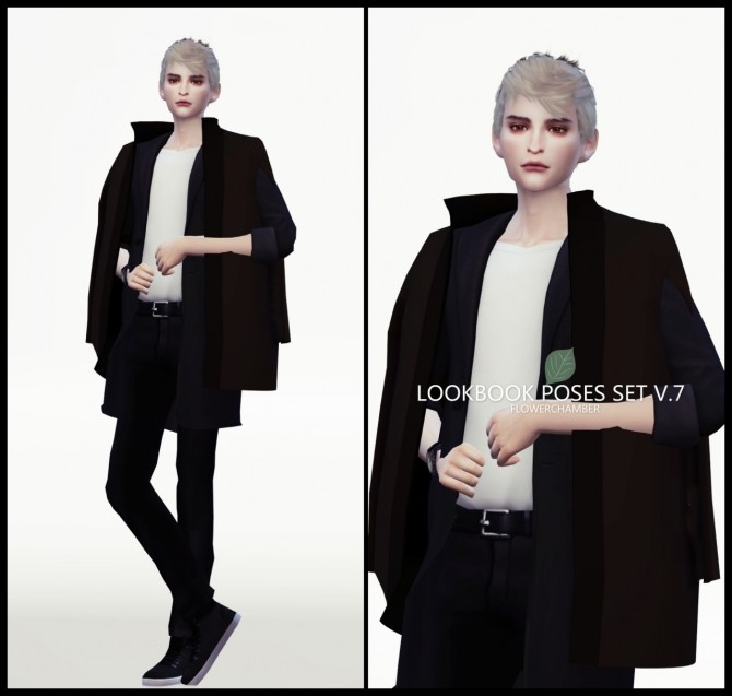 LOOKBOOK V.7 POSES SET at Flower Chamber image 2084 670x637 Sims 4 Updates