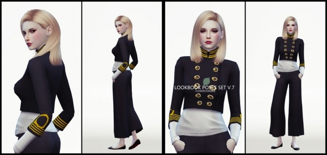 LOOKBOOK V.7 POSES SET at Flower Chamber image 2094 670x318 Sims 4 Updates