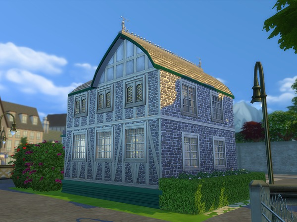 Sims 4 Old Johnes Cafe by Ineliz at TSR
