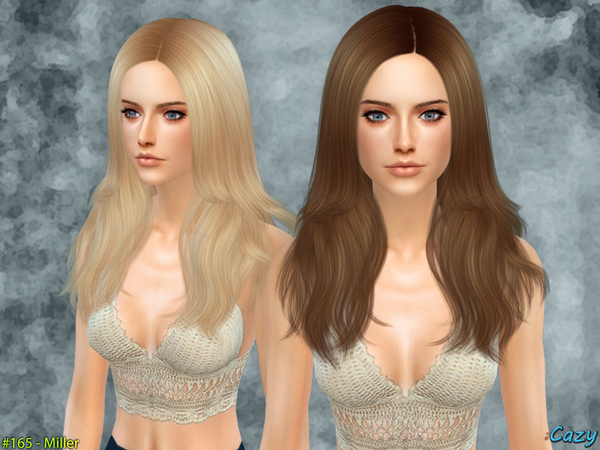 Miller Female Hair by Cazy at TSR image 2120 Sims 4 Updates