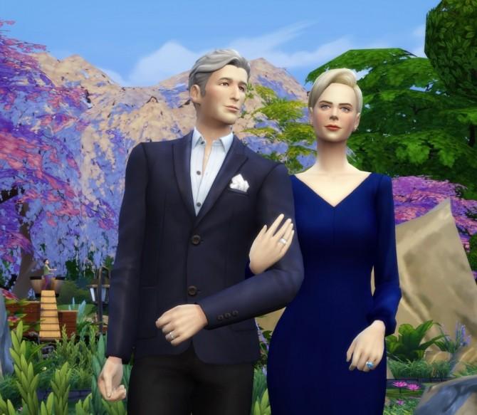 Chiffon blouse dress at Rusty Nail image 219 670x583 Sims 4 Updates