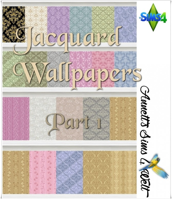 Jacquard Wallpapers Part 1 at Annett's Sims 4 Welt image 2193 670x775 Sims 4 Updates