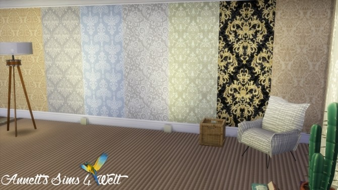 Jacquard Wallpapers Part 1 at Annett's Sims 4 Welt image 2203 670x377 Sims 4 Updates
