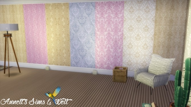 Jacquard Wallpapers Part 1 at Annett's Sims 4 Welt image 2219 670x377 Sims 4 Updates
