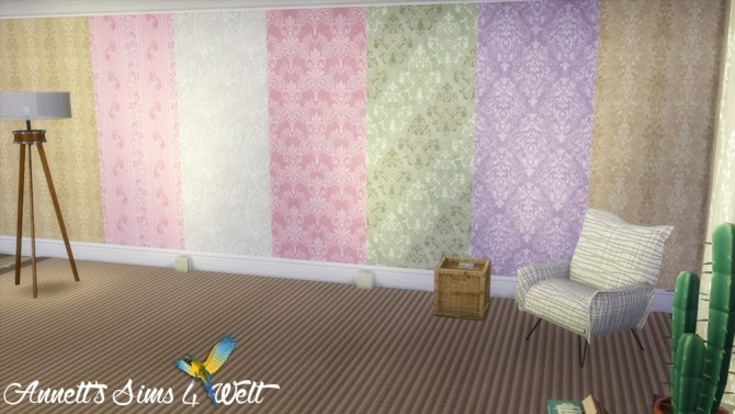 Jacquard Wallpapers Part 1 at Annett's Sims 4 Welt image 2223 670x377 Sims 4 Updates