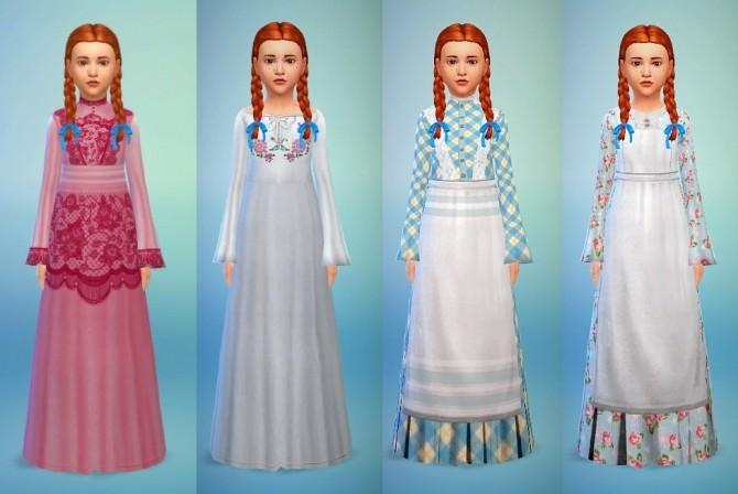 Sims 4 Charlotte dress set at Budgie2budgie