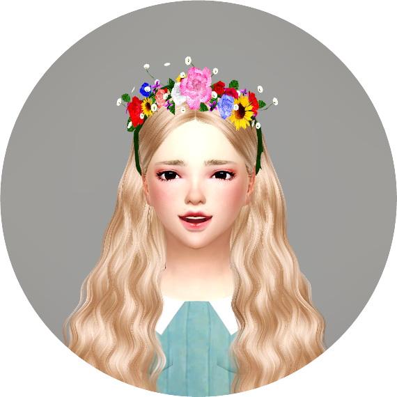Child Flower Crown at Marigold image 2252 Sims 4 Updates