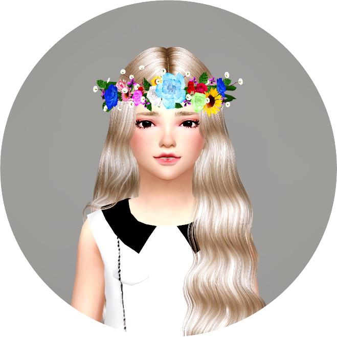 Child Flower Crown at Marigold image 2262 Sims 4 Updates