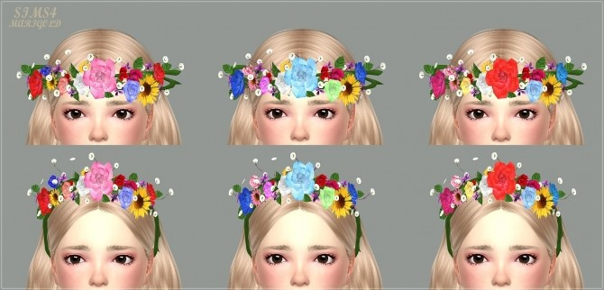 Child Flower Crown at Marigold image 2272 670x322 Sims 4 Updates