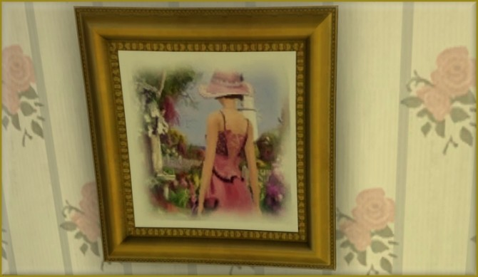 Sims 4 Rêverie paintings at L'univers de Nicole