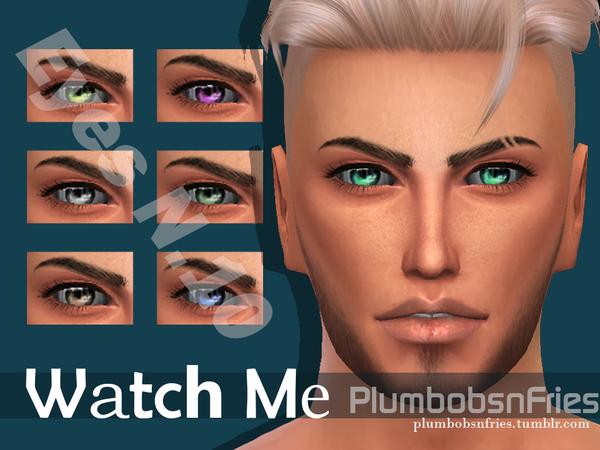Sims 4 Watch Me Eyes N.10 by Plumbobs n Fries at TSR