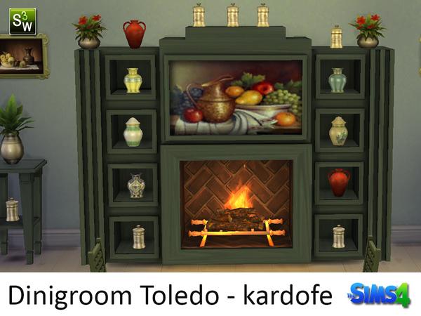 Sims 4 Dinigroom Toledo by kardofe at TSR