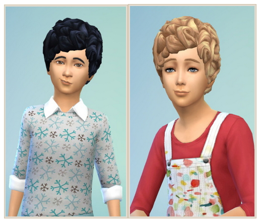 Sims 4 My sweet Child Hair at Birksches Sims Blog