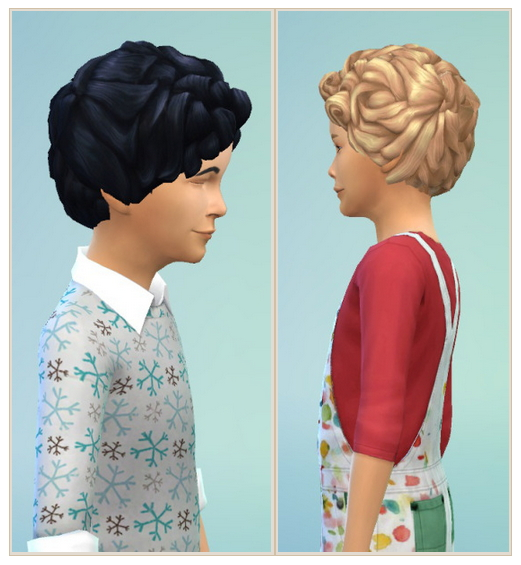 My sweet Child Hair at Birksches Sims Blog image 2432 Sims 4 Updates